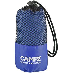CAMPZ Mikrofaserhandtuch 60x120cm blau